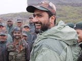 "Video : ""Good Food... Happy Being Here"": Army Teaches Vicky Kaushal Haryanvi"