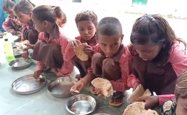 Priyanka Gandhi Slams UP Government For Roti-Salt Meal To Schoolchildren