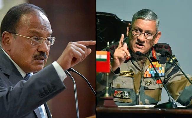 NSA अजीत डोभाल की सेना प्रमुख से अमरनाथ गुफा के पास टेंट में मुलाकात ने दी अटकलों को हवा