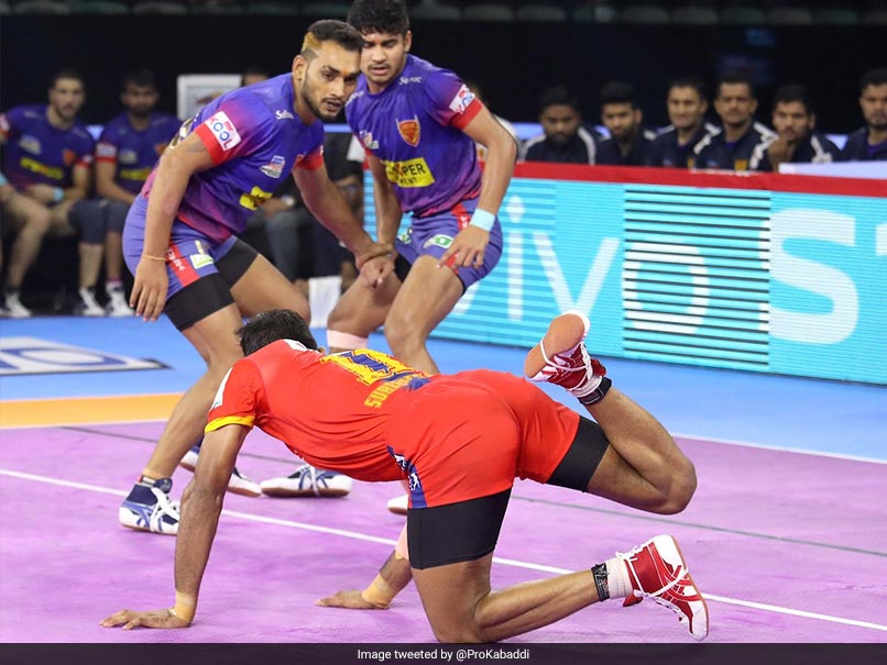 PKL 7: Naveen Kumar Stars As Dabang Delhi Beat UP Yoddha 36-27