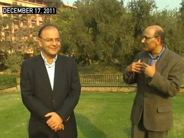 Video : Walk the Talk with Arun Jaitley (Aired: December 2011)