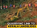 "Video : Most Recent Kerala Landslides In ""Ecologically Sensitive Zones"""