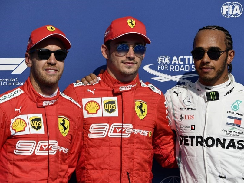 Belgian Grand Prix: Charles Leclerc Claims Pole As Ferrari Lock Out Front Row