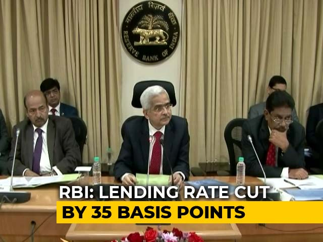 Video : RBI Cuts Repo Rate For Fourth Time This Year, EMIs Set To Get Lower