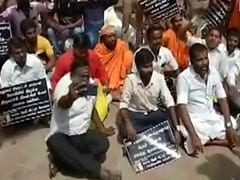 Protests At Meenakshi Amman Temple Over Missing Statue In Madurai