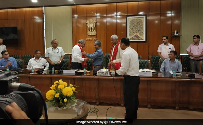 Peace Pact Signed With Tripura Insurgent Group