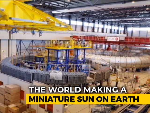 "Video : ""Made In India"" Written All Over ""Little Sun"" Being Created In France"