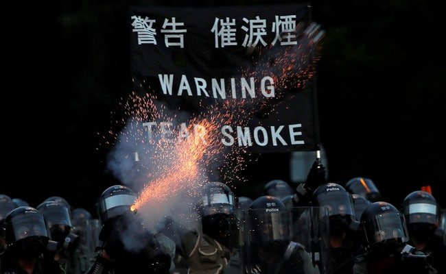'Those Who Play With Fire Perish By It': China Warns Hong Kong Protesters