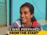 "Video : ""I Thought Of Giving My Best In The Final,"" Says World Champion PV Sindhu"