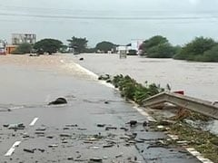Vanishing Flyover, Rooftops In Water At Maharashtra's Flooded Kolhapur