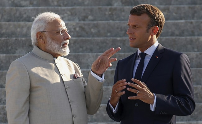 PM Modi In France Highlights: India Will Receive 1st Of The 36 Rafale Fighter Jet Next Month: President Macron