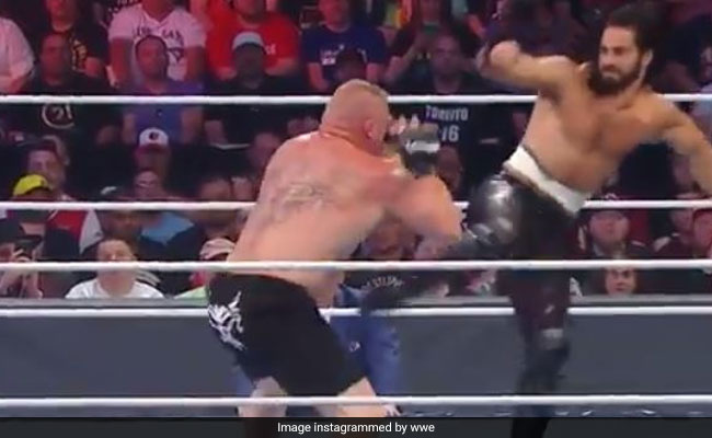 WWE SummerSlam 2019 RESULTS: सेथ रॉलिन्स ने पटक-पटककर किया Brock Lesnar का बुरा हाल, ये बना यूनिवर्सल चैंपियन- देखें Video