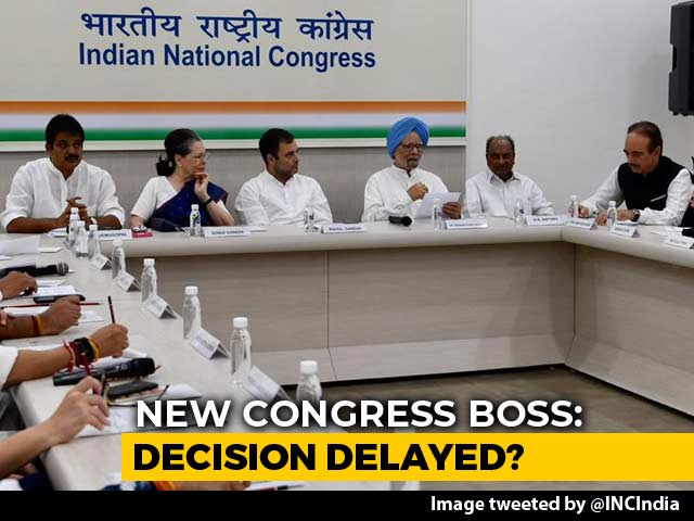 Video : New Congress Chief By 9 pm, Five Groups Hold Marathon Talks