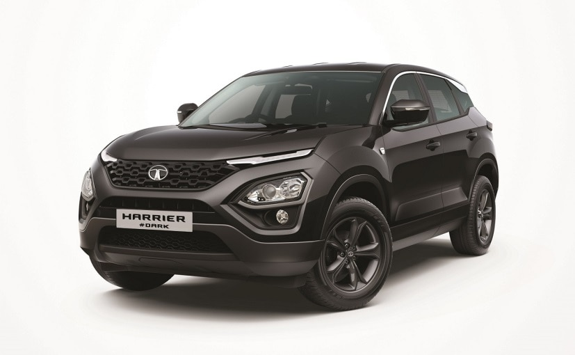 The Harrier Dark edition was previously available on the top-end XZ & XZ+ variants only