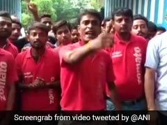 """Forced To Deliver Beef And Pork"": Zomato Riders Protest In Howrah"