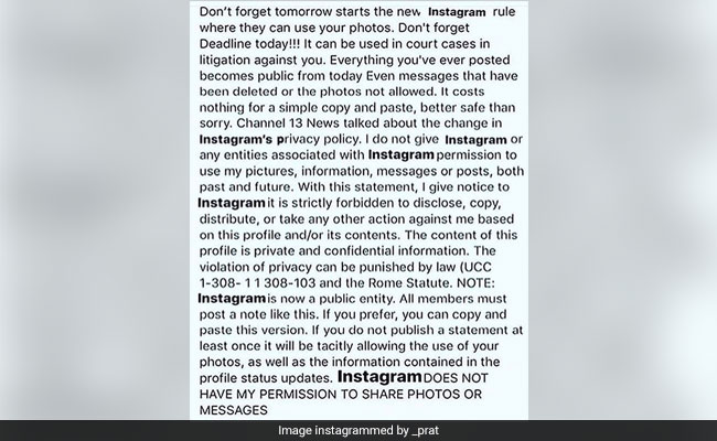 Fact-Checked: The Truth Behind Viral 'Instagram Terms-Of-Service' Post