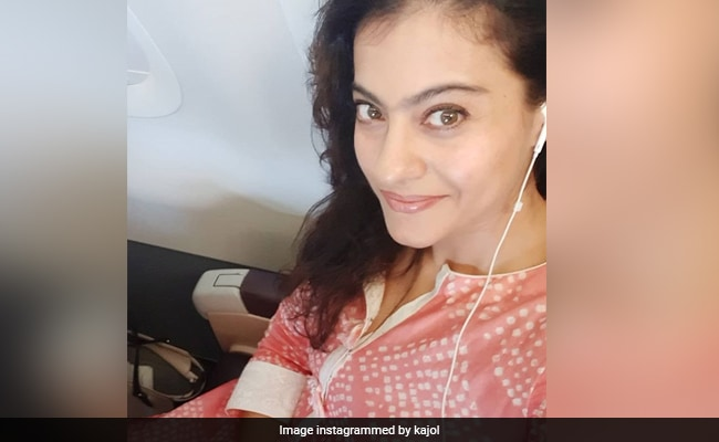 What Kajol Posted About Her Airport Look