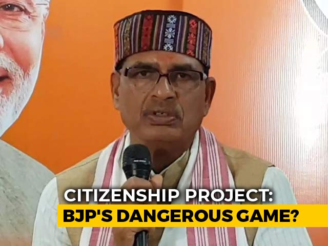 "Video : India Not ""<i>Dharamshala<i>"", Citizens' List Needed For Entire Country: BJP"