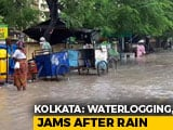 Video : Kolkata Battered By Heavy Rain For Second Day, Flights Affected