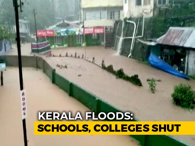 Video: Schools, Colleges Holiday Declared In 11 Kerala Districts, Exams Postponed