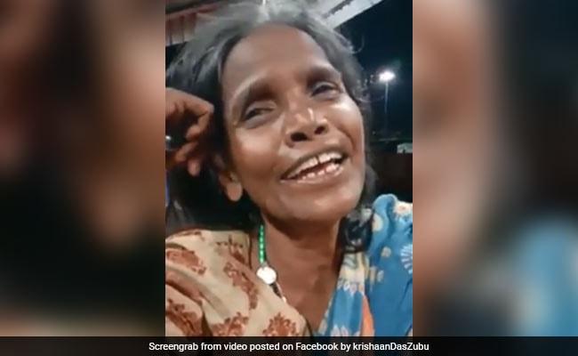 लता मंगेशकर के गाने से महिला ने दी टॉप सिंगर्स को टक्कर, Video पहुंचा 20 लाख के पार