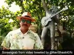 """Watch: Ravi Shastri's """"Date With The Legend"""" Bob Marley"""