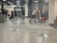 Video: Water Pours Into Airport, Stuns Travellers