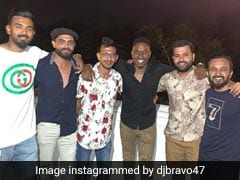 "Dwayne Bravo Parties With ""Brothers From India"" At Brian Lara"