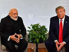 """Could Be"": Trump Hints At Announcement At PM's ""Howdy, Modi"" Event"