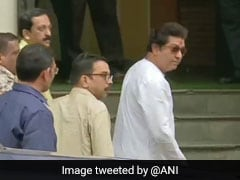 Raj Thackeray Appears For Questioning In Probe Linked To IL&FS Crisis