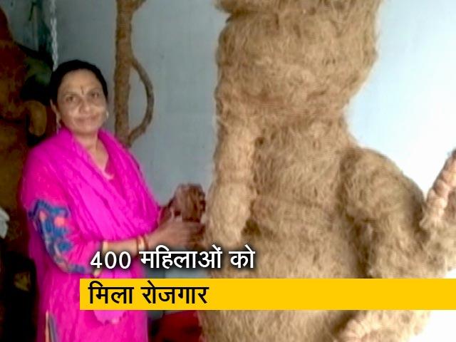 Video : गुजरात में नारियल के छिलकों से बनाई जा रही हैं कलाकृतियां