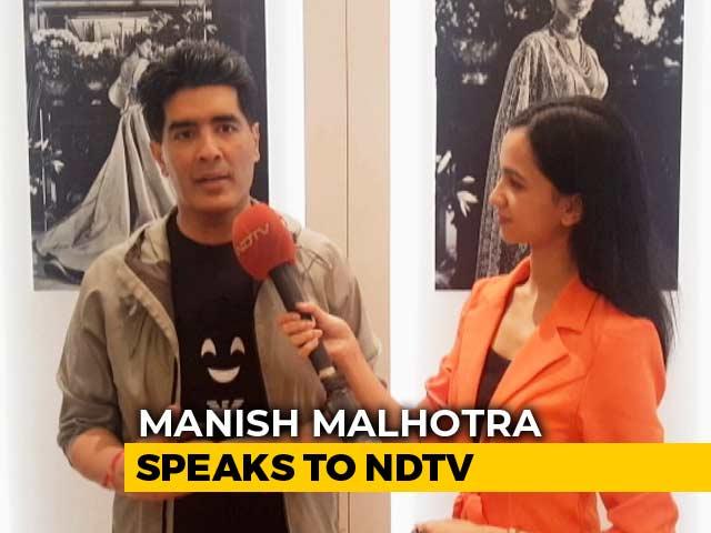 Video : Manish Malhotra On 'Reinventing Red'