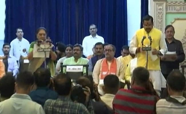 In Yogi Adityanath's Cabinet Expansion, A Promotion For Riot-Accused MLA