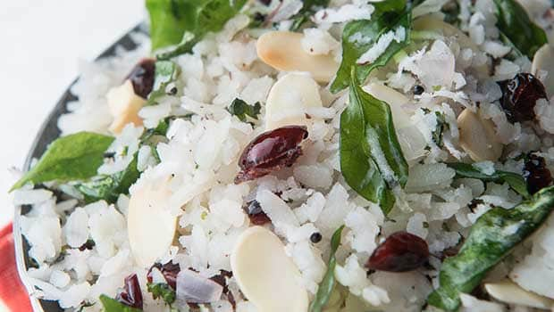 Healthy Breakfast Tips: Give Your Poha A Makeover By Adding Almond And Cranberry To It