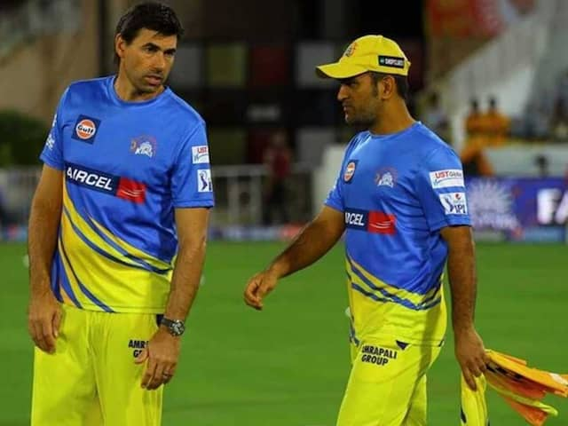 """MS Dhoni And Stephen Fleming Are Best Captain-Coach Combination"", Says Shane Watson"