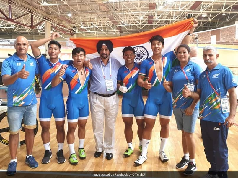 Indian cyclists win historic gold at world Junior Track Championships