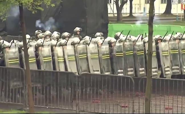 China's Military Warns Hong Kong Protestors With Propaganda Video