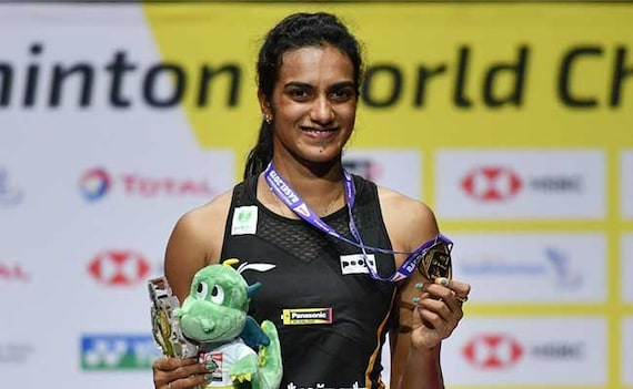 PV Sindhu First Indian To Win World Championships Gold