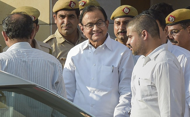 'Amazed', Tweets P Chidambaram From Jail, On Interacting With 'The Poor'
