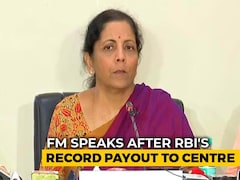 Video: Can't Say How Funds From RBI Will Be Utilised: Nirmala Sitharaman