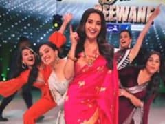 <i>Mission Mangal</i> : When Vidya Balan, Sonakshi Sinha And Taapsee Pannu Became '<i>Dance Deewane</i>' With Madhuri Dixit