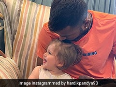 Watch: Hardik Pandya's Babysitting Video Rules Internet