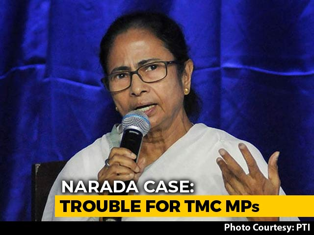 Video : CBI Seeks Sanction To Charge 3 Trinamool MPs In Narada Sting Op: Sources