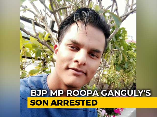 Video : BJP MP Roopa Ganguly's Son, 20, Arrested For Driving Dangerously