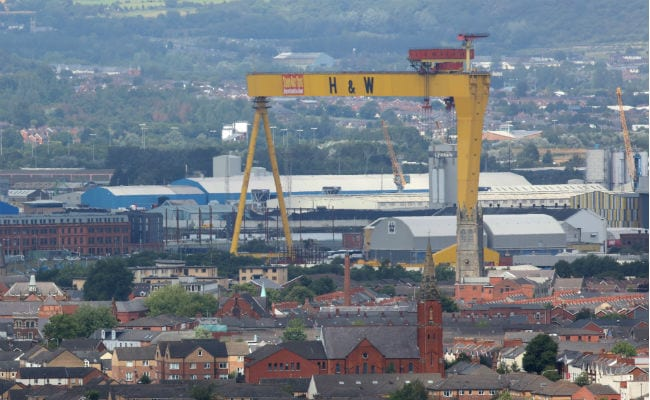 Shipyard That Built Titanic Headed To Insolvency Amid Workers' Protest