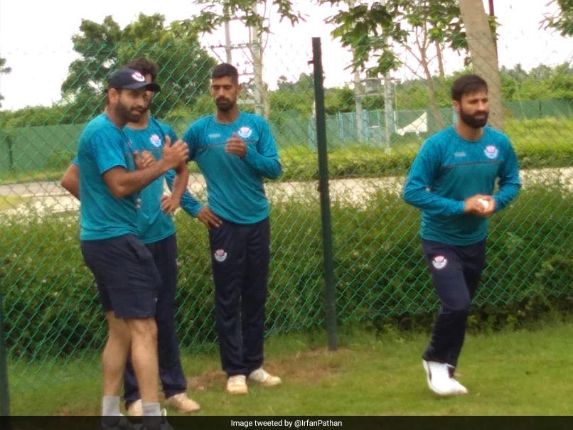 Irfan Pathan says Jammu and Kashmir Cricket team to hold camp in Vadodara