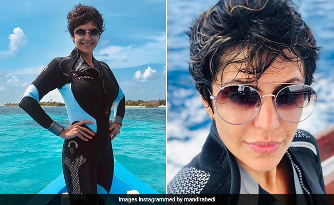 After Bikini Glam On Instagram, Mandira Bedi Posts Pic Of 'Other Gear For Swimming'