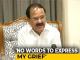 "Video : ""Irreparable Loss To Nation"": Venkaiah Naidu On Arun Jaitley's Death"