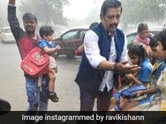 Bhojpuri Cinema: घर से संसद जा रहे थे रवि किशन, बारिश में बच्चों की चीख-पुकार सुनकर यूं की उनकी मदद...