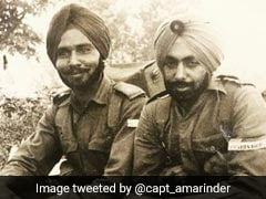 On Friendship Day, Amarinder Singh Tweets Throwback From Army Days
